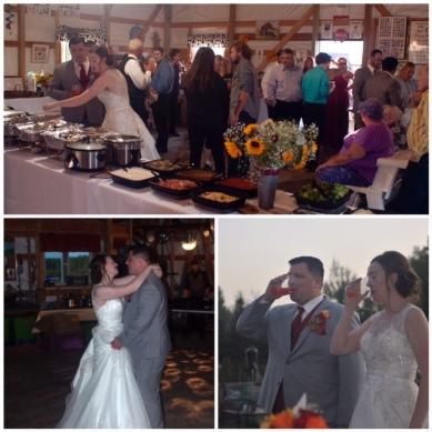 Bridget wedding collage
